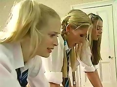 Schoolgirls Spanked And Fucked