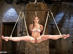 Felony in Part 1 - Felony Live Demonstrate - Most Flexible Milf - Hogtied