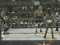 Nymph Bodybuilder Wrestling