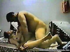 Vintage arab inexperienced couple make rigid homemade anal