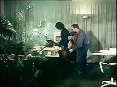 german vintage anal tweak - secretary gets booty-fucked