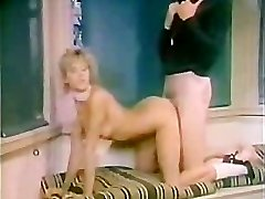 Retro nymph Fucked by Gym Coach