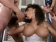 Sarah Young tit fuck and facial