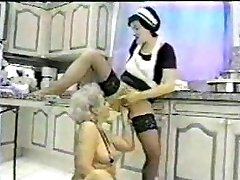 Grannie fisted by her Maid...F70