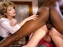 Barbarella, Moana Pozzi, Sean Michaels in well-suspended ebony retro pornography star doing latin chicks