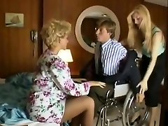 Sharon Mitchell, Jay Pierce, Marco in antique sex gig