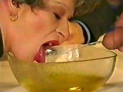 Grandma drinks pee & pisses it out by satyriasiss