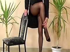 Another old school pantyhose reel