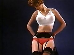 WASTING MY TIME - antique nylon striptease pantyhose