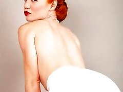 Fifties Redheaded Princess