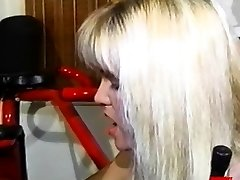 Busty clyster dykes toying asses and pussies in 3 way