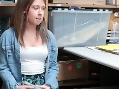 Shoplyfter - Small Teen Patted down and Fucked
