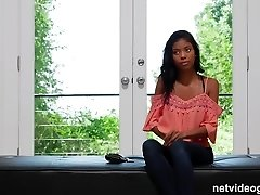 Shy 18yr black girl comes out of your shell during audition