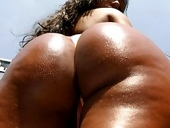 Nivea is soo hottt chk her out as we fuck under the beach shower hot sex action and her ass is huuuuge