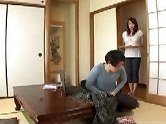 Asian Mother in law in Step Sons-in-law Wet Dream