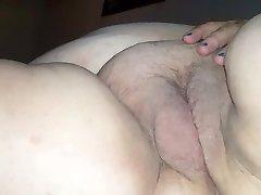 BBW lengthy strokes & creampie