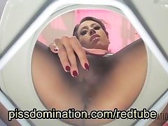 Mistress Tangent Toilet Gimp Humiliation