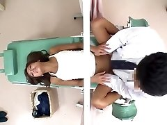 JapWife gets her Snatch Hammered by Gynecologist ch2