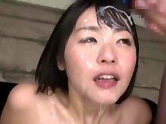 japonés bukkake reina