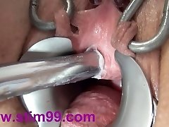 Extreme Peehole Plowing Insertion Dildo and Asian sounds
