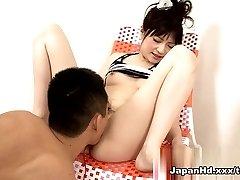 Increíble pornstar Rika Sonohara en el más caliente de los Dedos, Consoladores/Juguetes para adultos clip