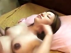 Oriental preggo creampied after ravaging