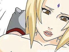 Naruto Hentai - Fantasy sex with Tsunade