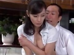 Japanese Mature Having Hook-up with Boss Hubby 2