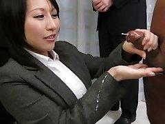 Удивительный Японский шлюха Yuuna Hoshisaki в горячие без цензуры яв рукой клип