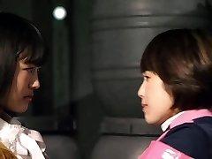 Mika Kikuchi and Mayu Kawamoto Girly-girl Kiss