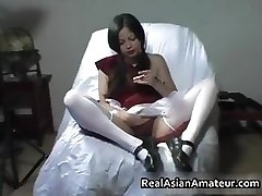 Awesome handjob given by a funny part5