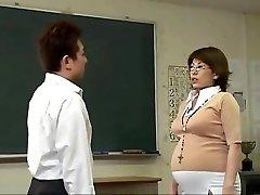 Pregnant Japanese honies getting slammed