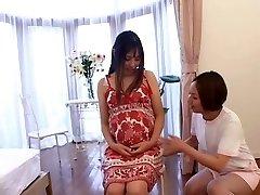 japoneze asistentă adolescent grijă de o pacienta insarcinata