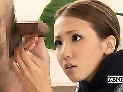 Subtitled CFNM Japanese bizarre group bone inspection