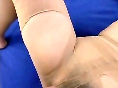 Pantyhose Girl with the Hairy Gash