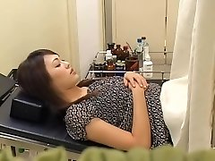 Lovely fur covered Japanese broad gets fucked by her gynecologist
