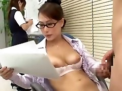 Astounding Asian girl Yayoi Yanagida in Best Office, Doggy Style JAV scene