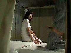 Hot Japanese Nurse Pummels Patient