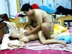 Čínsky Pár Sex