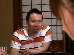 Úžasné Japonské model Junko Hayama v Horny Prsteň, Chudá JAVA-scény