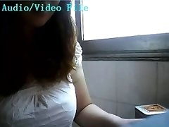Chinese woman lactating on webcam