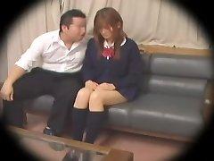 Ugly Jap nubile gets banged in spy cam Asian hump video
