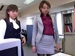 CFNM - Femdom - Humiliation - Asian Femmes in Office