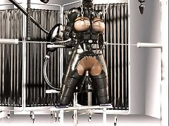 3D Latex BDSM Fantasy!