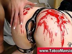 Lezdom babe slaps