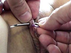 Extreme Injection Needle Torture Bondage & Discipline and Electrosex Nails and Needles