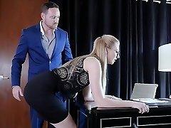 Submissived - Sexy Secretary Brutal Poke Punishment