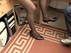 Hard-core OMAS - Dirty Germany grandmother takes dick at the office