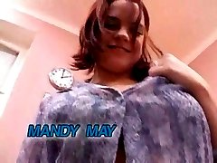 Mandy May Takes On Two Guys