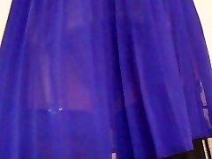 Retro Garter Belt Dark-hued Stockings
